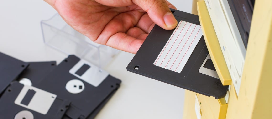 floppy - A Brief History of Data Storage