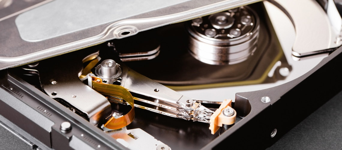 harddisc - A Brief History of Data Storage
