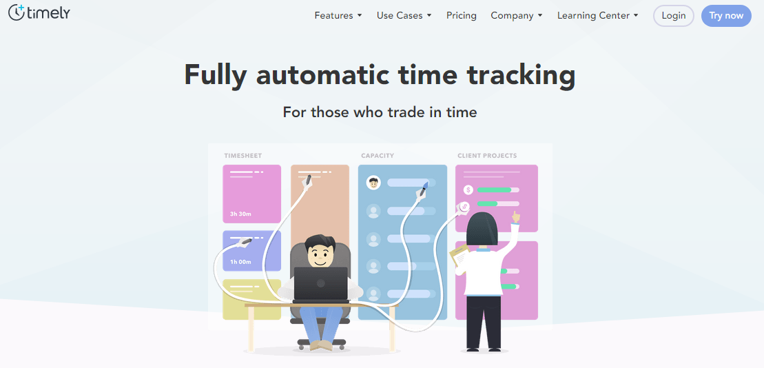 timelyapp - 21 Best Time Tracking Tools for IT Companies