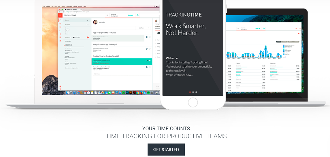 trackingtime - 21 Best Time Tracking Tools for IT Companies