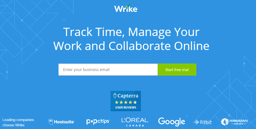 wrike - 21 Best Time Tracking Tools for IT Companies