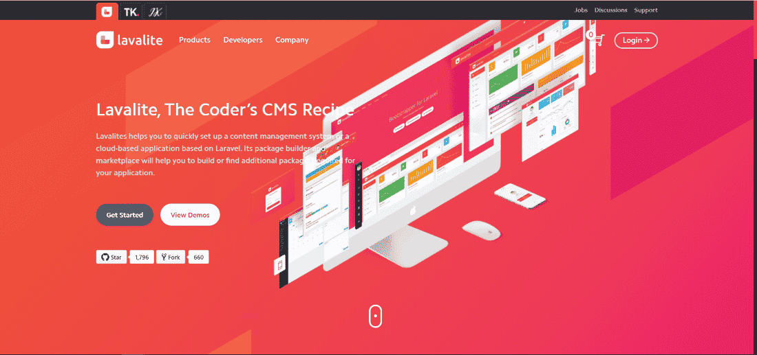 Lavalite CMS - Top 10 Open Source CMS Powered by Laravel and Symfony