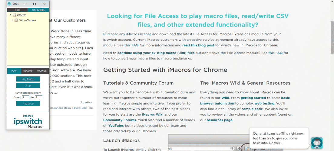 macros - 30 Best Chrome Extensions for Developers, Designers and Testers