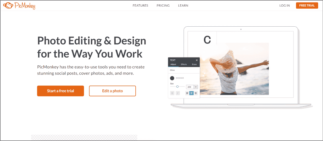 picmonkey - 30 Best Chrome Extensions for Developers, Designers and Testers