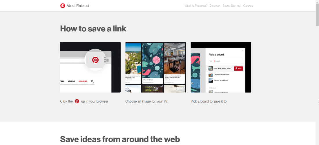 pinterest save button - 30 Best Chrome Extensions for Developers, Designers and Testers