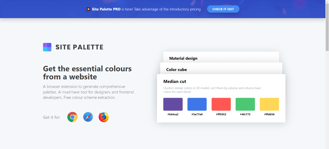 site palette - 30 Best Chrome Extensions for Developers, Designers and Testers