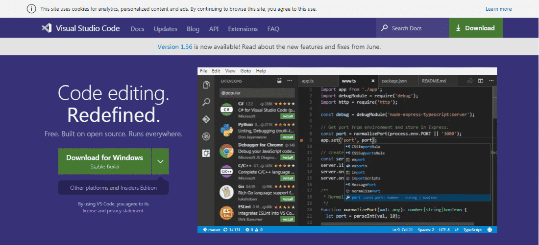Visual Code Studio Python IDE - Best Python IDEs and Code Editors for Windows, macOS and Linux