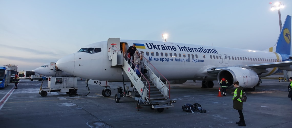 Ukraine is conveniently located in the heart of Europe