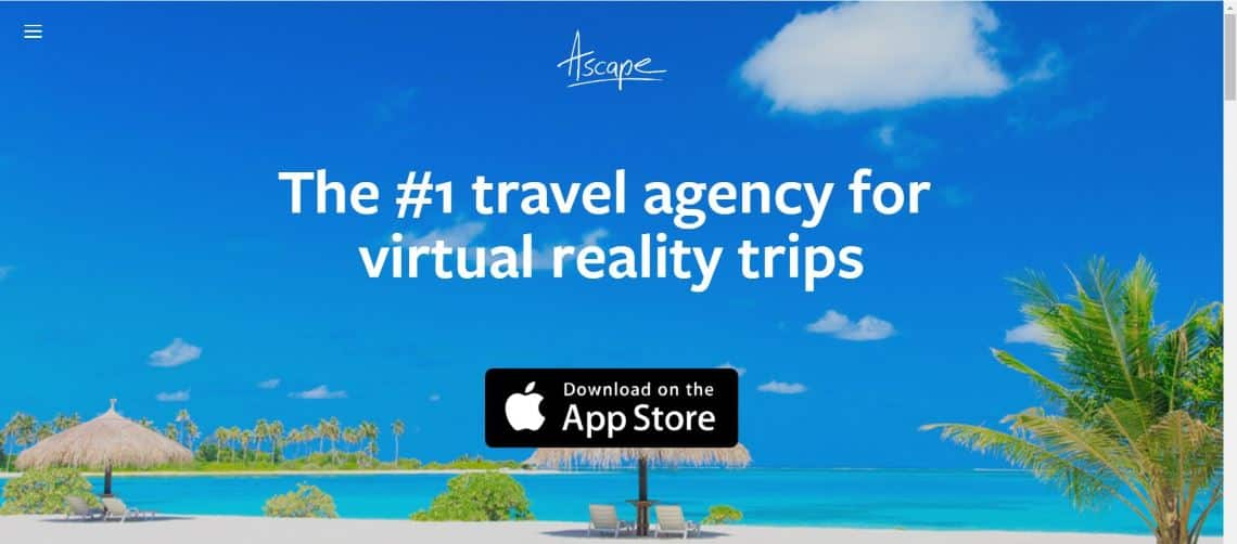 Ascape - The Most Interesting Travel and Tourism Startups Around the World
