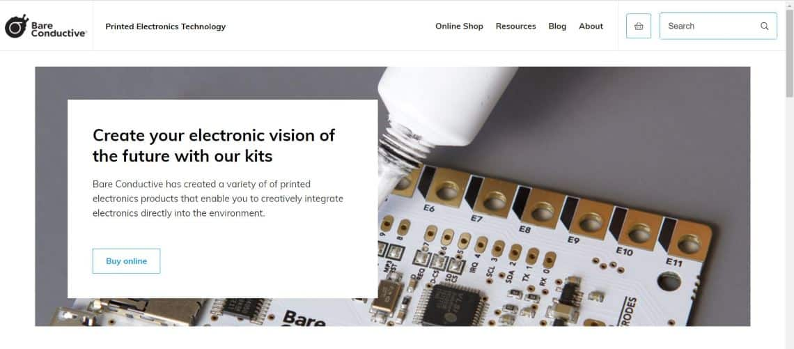 Bare Conductive - Top IoT Companies and Startups You Should Know