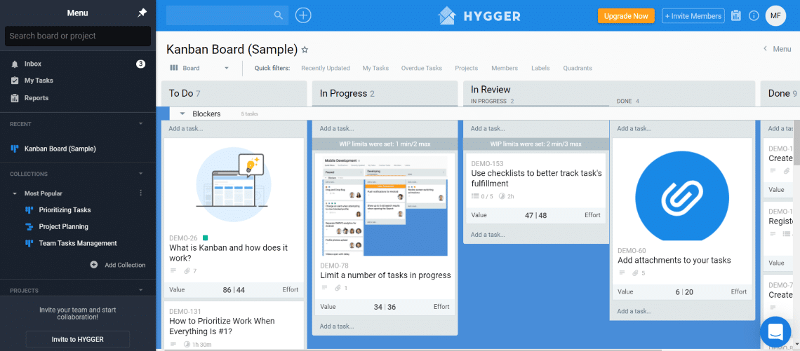 Hygger - Free Agile Project Management Tools for Your Scrum Team