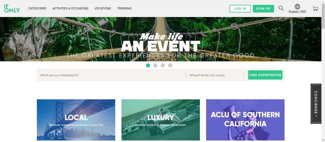 IfOnly - The Most Interesting Travel and Tourism Startups Around the World