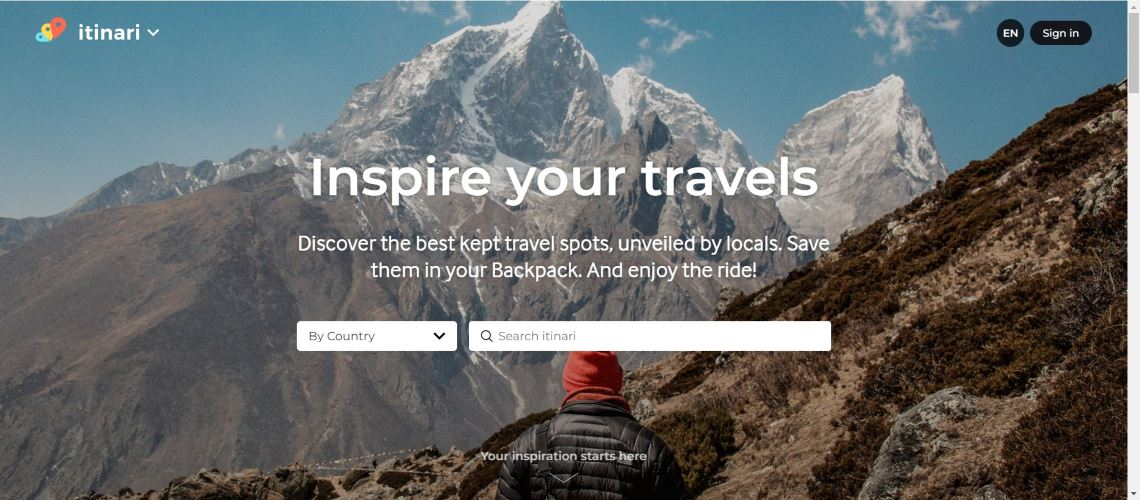 ItNari - The Most Interesting Travel and Tourism Startups Around the World