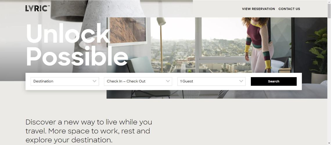 Lyric - The Most Interesting Travel and Tourism Startups Around the World