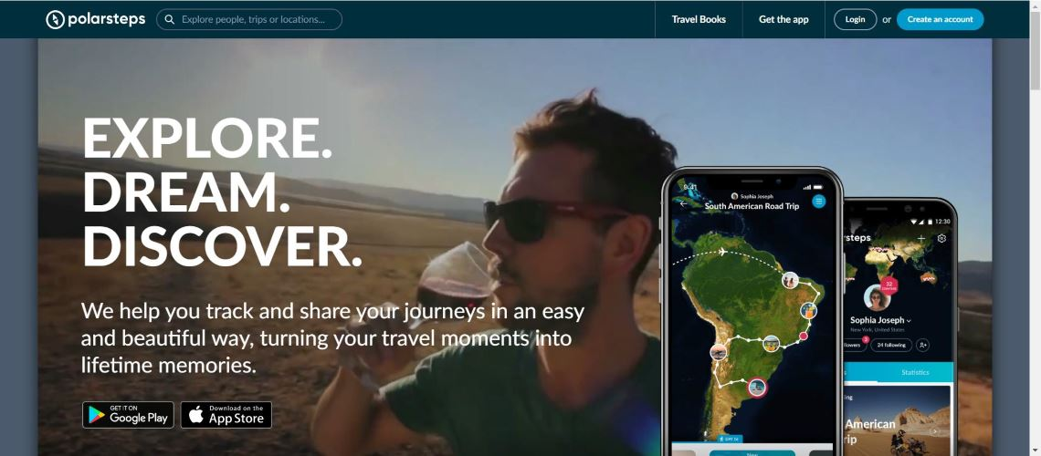 Polarsteps - 30 Best Travel Apps for Android and Iphone on the Market