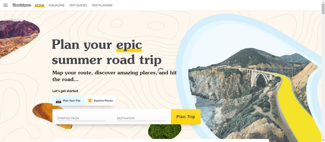 Roadtrippers - 30 Best Travel Apps for Android and Iphone on the Market