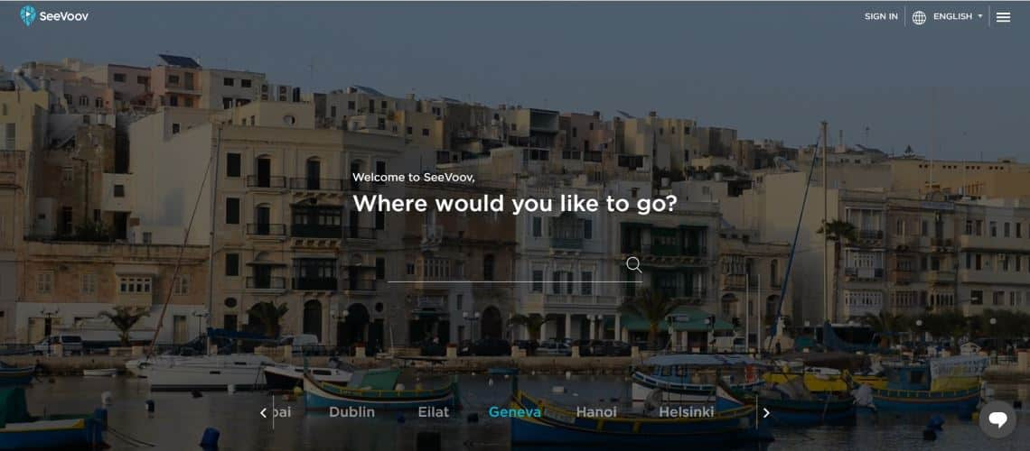 SeeVoov - The Most Interesting Travel and Tourism Startups Around the World