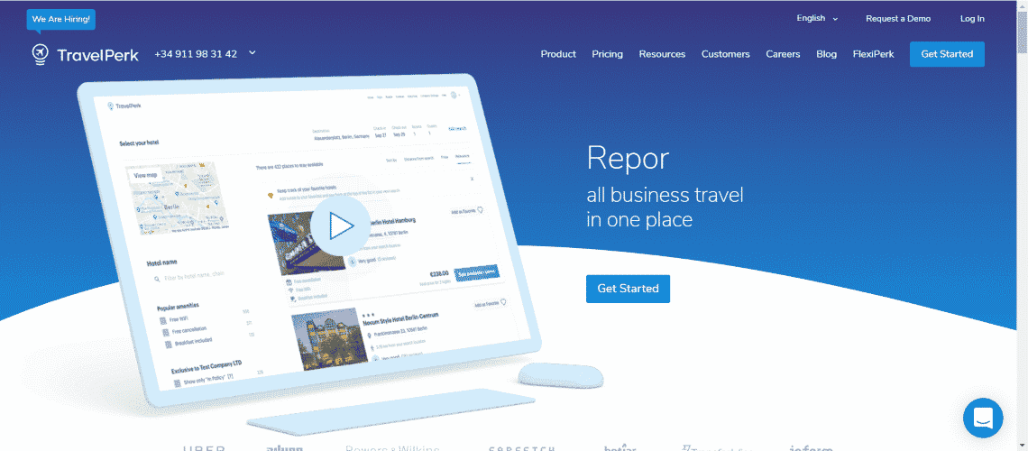 TravelPerk - The Most Interesting Travel and Tourism Startups Around the World