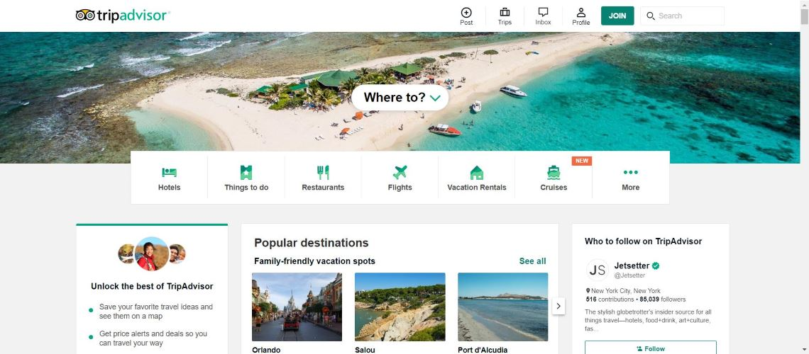 TripAdvisor - 30 Best Travel Apps for Android and Iphone on the Market