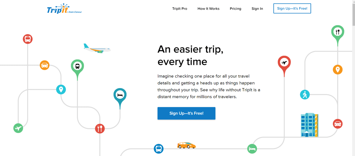 TripIT - 30 Best Travel Apps for Android and Iphone on the Market