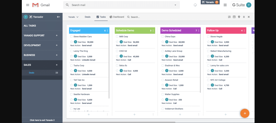 Yanado - Free Agile Project Management Tools for Your Scrum Team