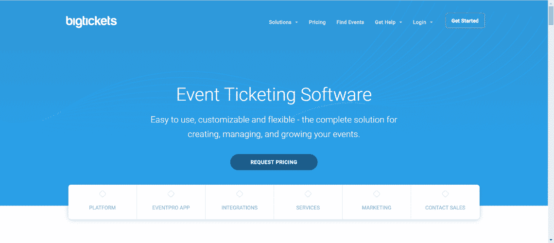 Bigtickets - Best Event Ticketing Software and Applications
