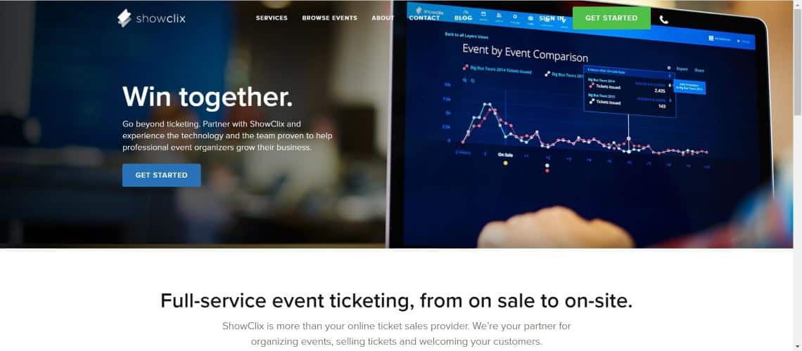 Showclix - Best Event Ticketing Software and Applications