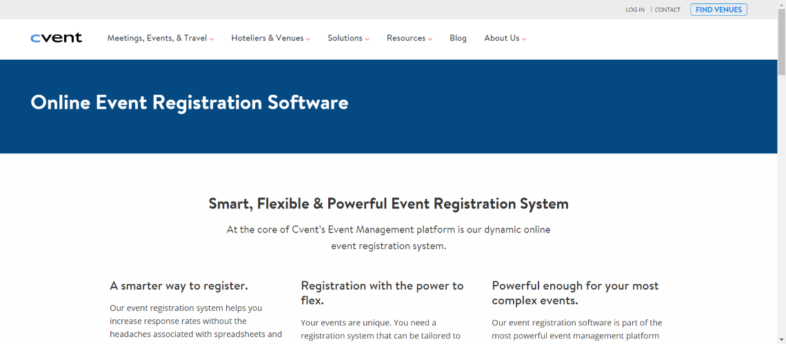 cvent - Best Event Ticketing Software and Applications