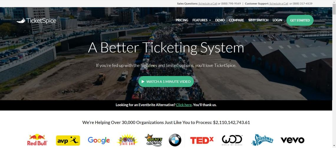 ticketspice - Best Event Ticketing Software and Applications