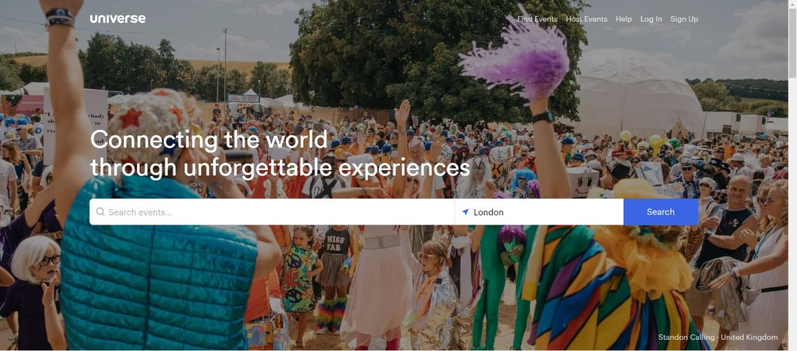 universe - Best Event Ticketing Software and Applications